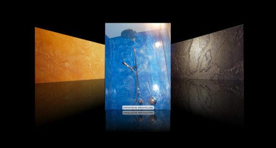 Syntetische Spachtelung - Fachgebiet von Massimo Color, Malergeschäft, Hergiswil