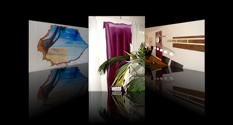 Illusionsmalerei - Fachgebiet von Massimo Color, Malergeschäft, Hergiswil