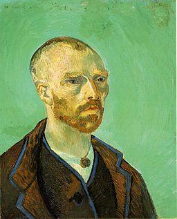 Selbstportrait Van Gogh - Gaugin gewidmet