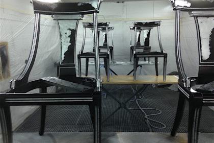 Stühle veredeln - im Blog von Massimo Color, Hergiswil, Nidwalden, Schweiz.