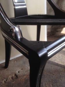 Stuhl versilbern - im Blog von Massimo Color, Hergiswil, Nidwalden, Schweiz.