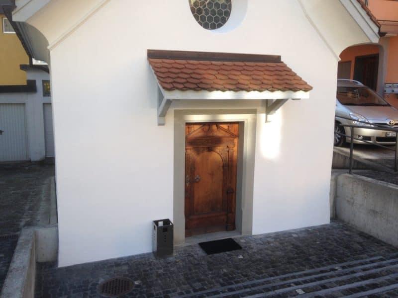 Restauration Kapelle und Sigristenhaus Hergiswil