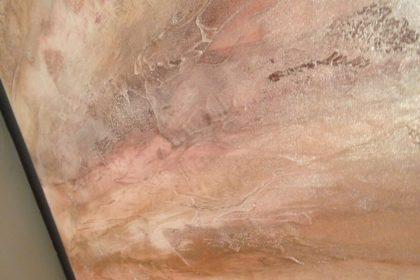 Pietra Spaccata - Beispiel im Showroom Stans von Massimo Color, Hergiswil